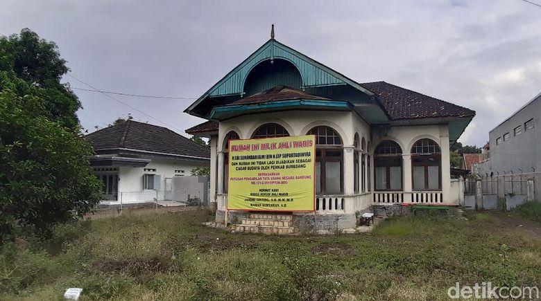 Rumah eks cagar budaya Sumedang