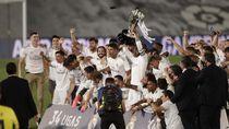Sah! Real Madrid Juara Liga Spanyol