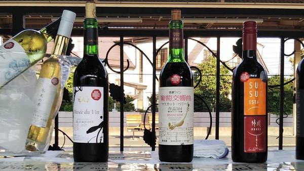 Pengunjung yang datang ke stasiun kereta ini tak cuma dapat menikmati pemandangan kebun anggur lho. Mereka juga bisa mencicipi wine dari kebun anggur itu. Selama beberapa tahun terakhir, para relawan membuat acara Wine Bar. Acara ini dilaksanakan setiap bulan September. (Foto: Instagram @shiojiritokimeguri)