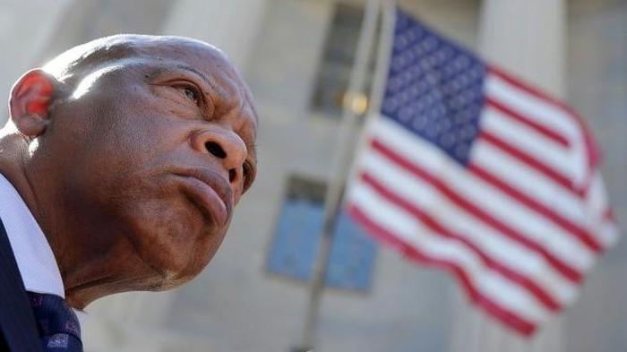 John Lewis, Anggota Konggres AS (AFP Photo)