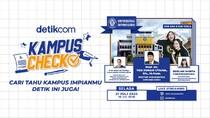 Tertarik Kuliah di UNDIP? Yuk Tonton Kampus Check detikcom!