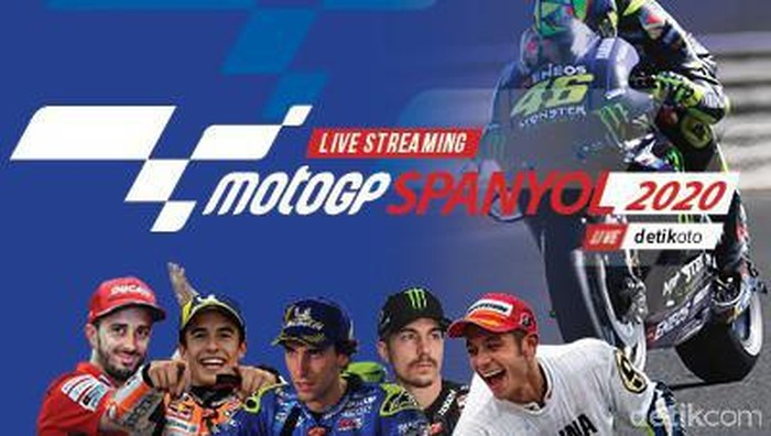 Live Streaming MotoGP detikOto