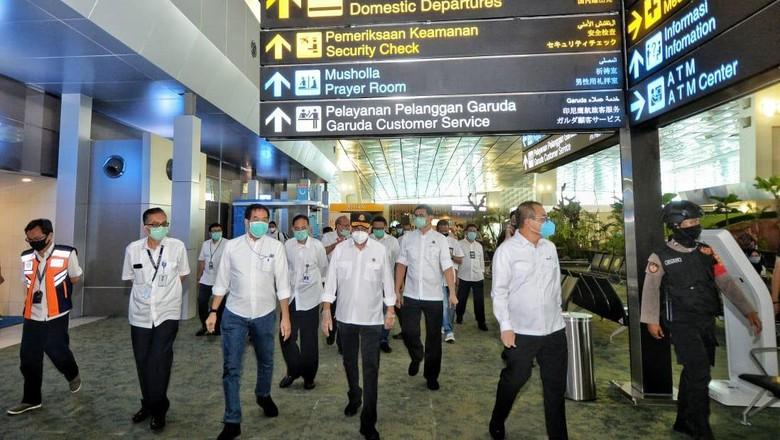 Menhub mengajak seluruh stakeholder penerbangan untuk bersama-sama menciptakan penerbangan yang aman, selamat, nyaman dan sehat.