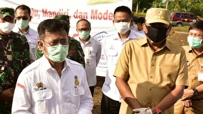 Mentan dan Gubernur Sulut