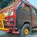 Mobil Tua Jadi Macho! Modifikasi Suzuki Carry Seperti Barakuda