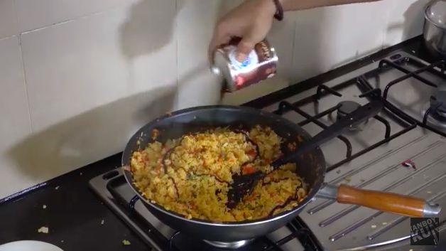 Mukbang nasi goreng ala Tanboy Kun