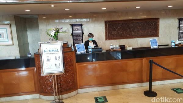 detikcom berkesempatan merasakan langsung bagaimana persiapan hotel di Jakarta dalam menyambut kembali wisatawan di tengah pandemo Corona dengan fitur CLEAN. Kesempatan kali ini detikcom menginap di Sari Pacifik Jakarta, Jumat- Sabtu (17-18 Juli 2020). (Syanti/detikcom)