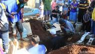 Video Haru Pemakaman Aulia yang Mayatnya Disembunyikan dalam Toren
