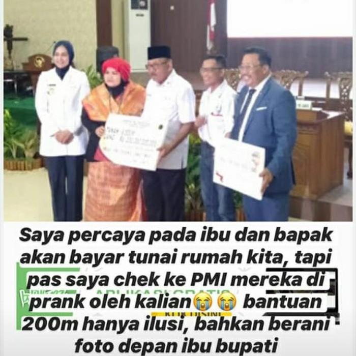Istri Anang Hermansyah, Ashanty menyebut rumah mereka akan dibeli seorang perempuan dari Jember sebesar Rp 35 miliar. Calon pembeli rumah itu diduga merupakan orang yang pernah berjanji akan menyumbang PMI Jember Rp 16 miliar. Namun hingga saat ini janji itu tak kunjung ditepati.