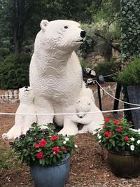 Pameran inipun diberi judul Wild Connections dan bisa dilihat pengunjung hingga tanggal 5 September mendatang. Terdapat 30 patung LEGO hewan yang bisa dilihat pengunjung di kebun binatang. (San Antonio Zoo)