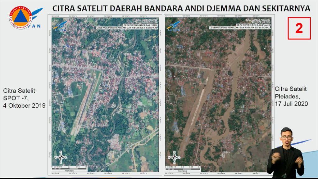 Citra Satelit Ungkap Before-After Daerah Terdampak Banjir Luwu Utara