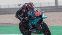 Hasil MotoGP Spanyol: Yamaha Finish 1-2, Quartararo Juara, Marquez Celaka