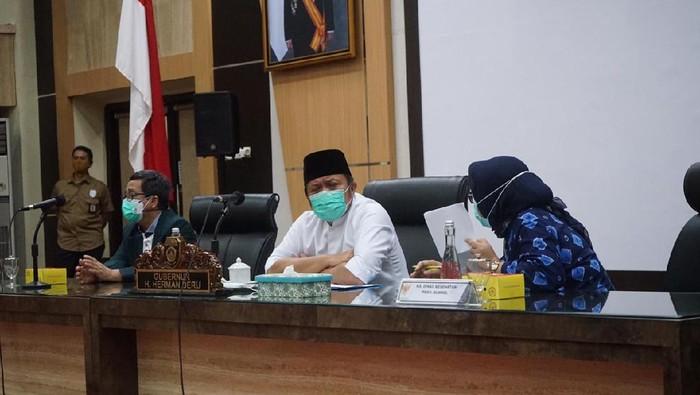 Gubernur Sumsel Herman Deru