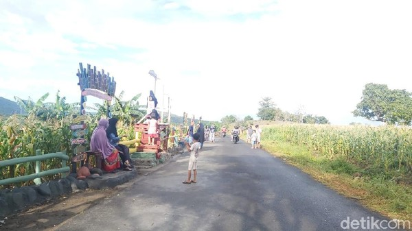 Inilah Jalan Tani yang terletak di Kelurahan Galung Maloang, Kecamatan Bacukiki, Kota Parepare, Sulawesi Selatan. Dulu tempat ini kumuh dan sering jadi lokasi balap liar. (Hasrul Nawir/detikcom)