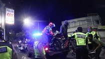 24 Motor Berknalpot Brong Diamankan di Ngawi