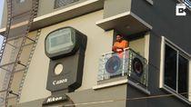 Terobsesi Fotografi, Pria Bangun Rumah Rp 1,4 M Berbentuk Kamera
