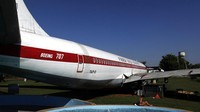 Sebuah pesawat Boeing 707 dari Angkatan Udara Paraguay dirombak menjadi museum dan restoran di Hotel Del Rancho yang berada di Loma Grande, Paraguay, Sabtu (18/7/2020) waktu setempat.
