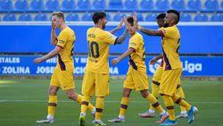 Video 5 Gol Barcelona Permalukan Alaves di Kandang