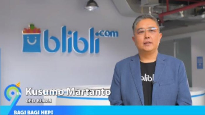 Chief Executive Officer Blibli Kusumo Martanto