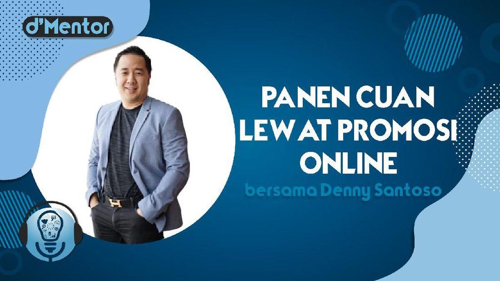 Live dMentor: Panen Cuan Lewat Promosi Online
