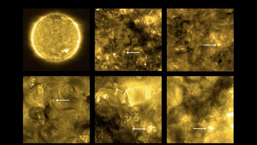 Misteri Temuan Api Unggun yang Bertebaran di Matahari