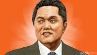 Erick Thohir Curhat Jam Kerjanya Nambah Gara-gara Corona