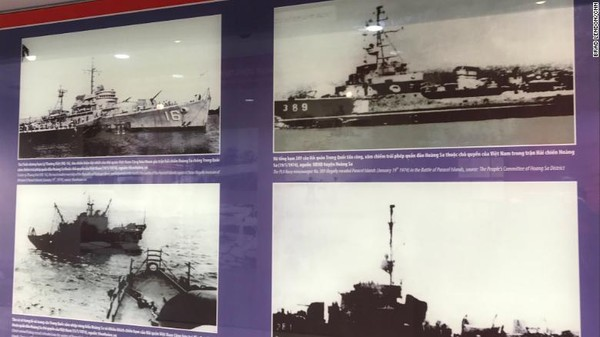 Orang-orang China tidak tinggal di sana sampai pendudukan pulau Woody, daratan terbesar di Paracel, pada tahun 1956. Lalu menduduki seluruh kepulauan pada tahun 1974 setelah pertempuran singkat dengan Vietnam Selatan, yang menewaskan 53 tentara Vietnam Selatan.