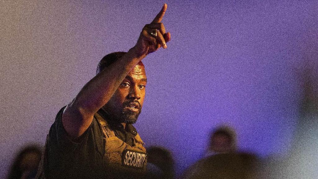 Tampilan Pernak pernik Kampanye Kanye West