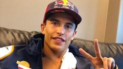 Hore! Lengan Kanan Marc Marquez Mulai Normal Lagi