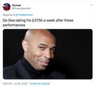 Meme De Gea