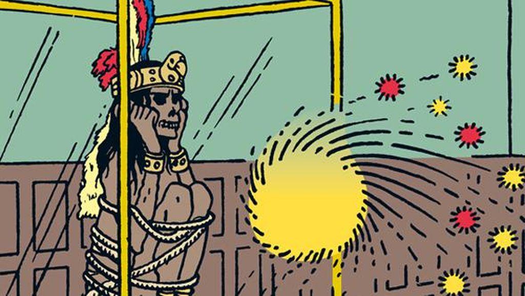 Mumi di Komik Tintin Bikin Dua Objek Wisata Belgia Berselisih