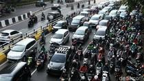 PSBB DKI Diperpanjang, Jalan Basuki Rachmat Tetap Macet