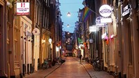 Pindah, Red Light District Amsterdam Jadi Lebih Kecil