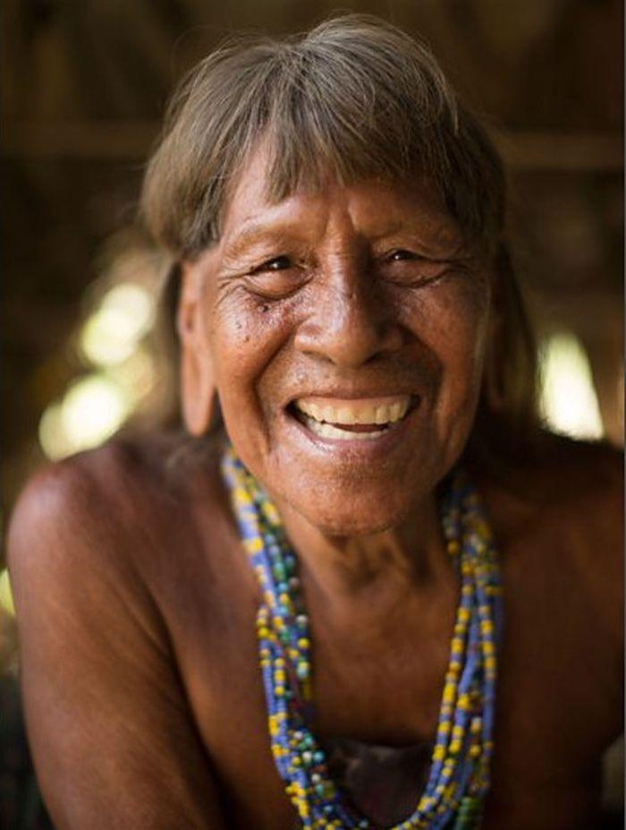 Suku Huaorani di Amazona