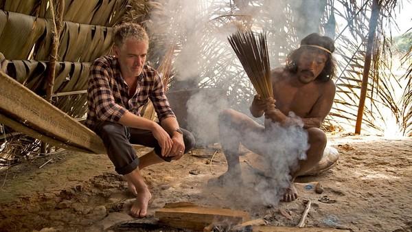 Suku Huaorani masih memegang teguh kepecayaan leluhur yang melarang perburuan rusa. (BBC)