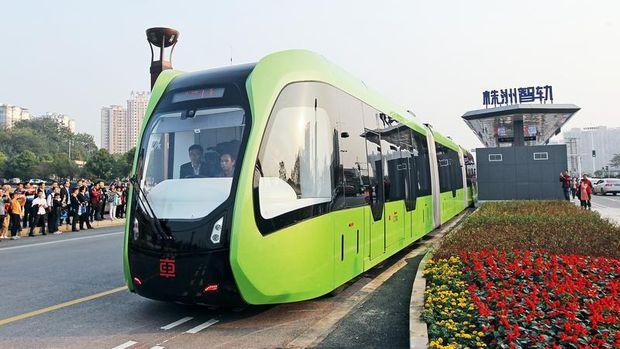 autonomous rail rapid transit (China Daily)