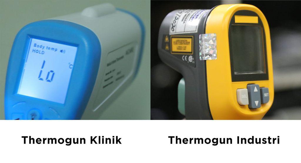 Beda Thermo Gun Medis dan Thermo Gun Industri (Dok Humas BSN)