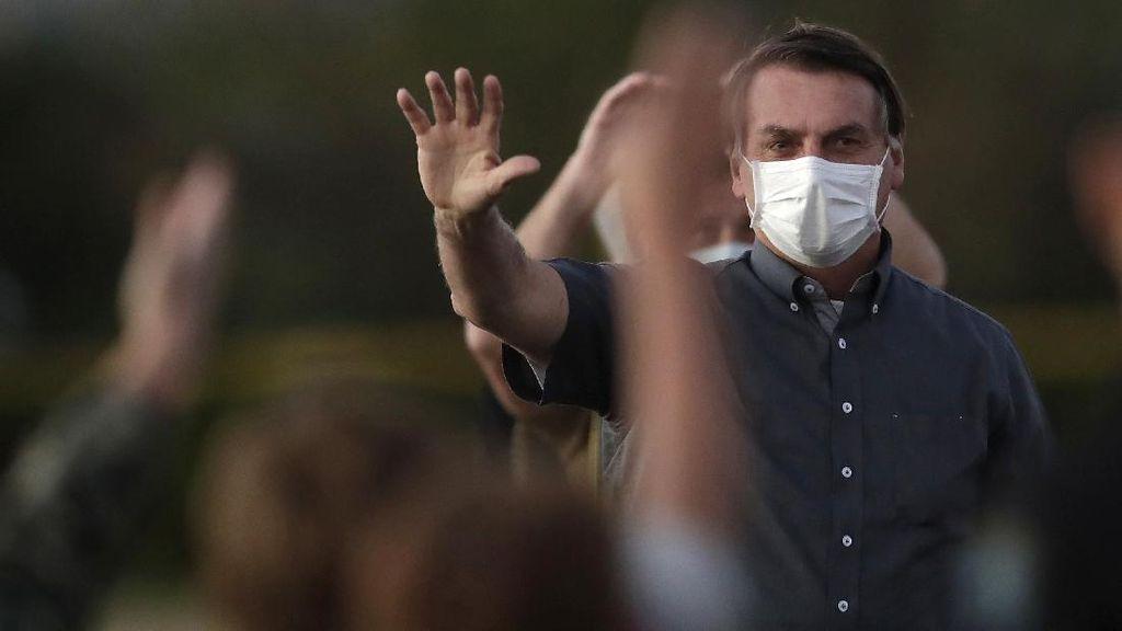 Presiden Brasil Tak Mau Diberi Vaksin Corona