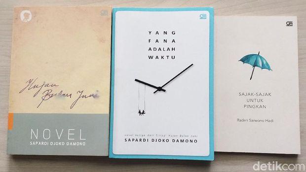Buku-buku Sapardi Djoko Damono