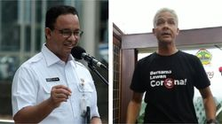 Ganjar dan Anies Buka Suara Usai Jokowi Sorot Naiknya Kasus Corona