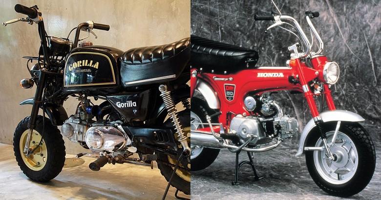 Honda Gorilla dan Honda Dax