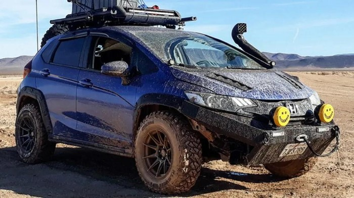 Honda Jazz off-road