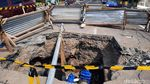 Ini Lubang Galian yang Bikin Pemotor Terperosok di Yogyakarta