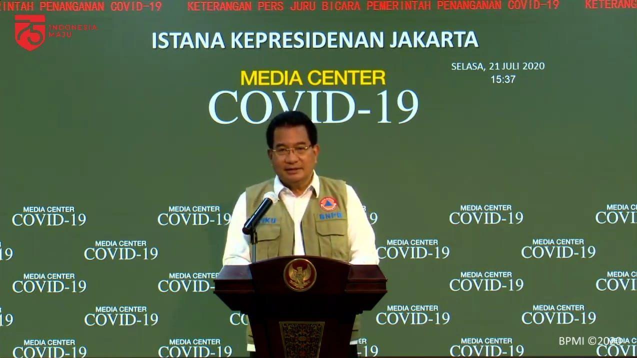 Juru bicara Satgas Penanganan COVID-19, Wiku Adisasmito (YouTube Sekretariat Presiden)