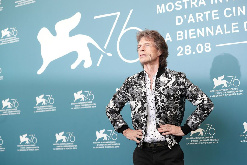 VENICE, ITALY - SEPTEMBER 07: Mick Jagger walks the red carpet ahead of the