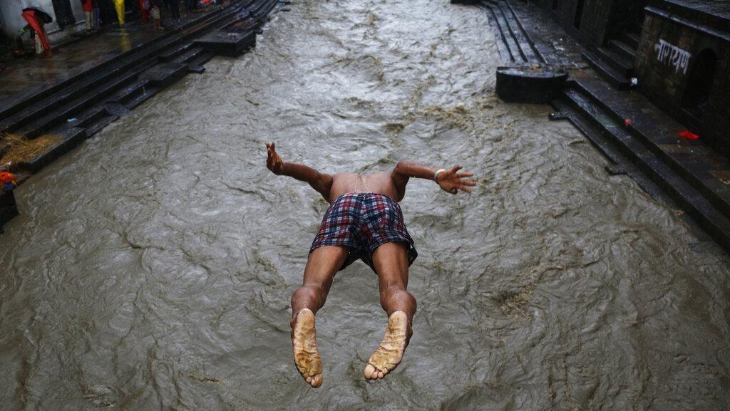 Setelah India, Kini Nepal yang Diterjang Banjir