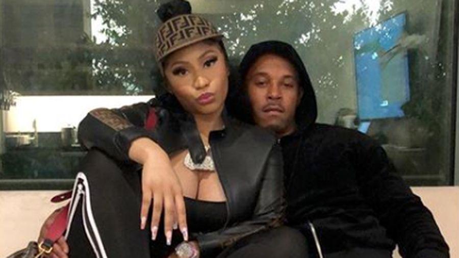 Nicki Minaj dan Kenneth Petty