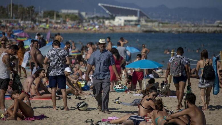 Pantai di Barcelona