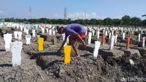 Rata-rata Angka Kematian Kasus COVID-19 Per Hari di 5 Daerah Jatim