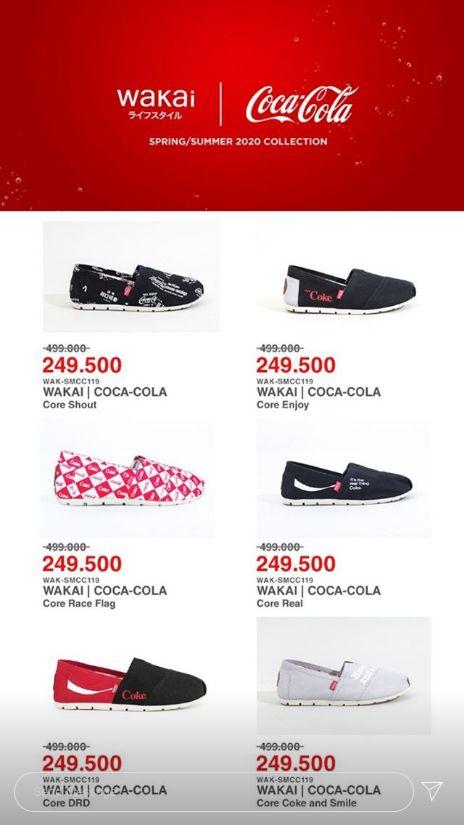 Sepatu Diskon Juli 2020